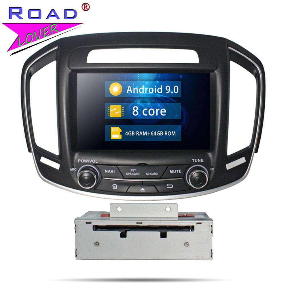 Car Radio Android 8.0 DVD Multimedia Player For Buick Insigina 2014 2015 Stereo GPS Navigation Automagnitol 2 Din Autoradio Unit