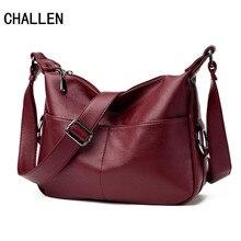 CHALLEN New Women Leather Handbags Summer Style Women Bag sac a main femme Luxury Handbags Women Bags Casual Small Handbag