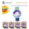 10PCS/Lot Hot Summer Outdoor UV Ray Test Bracelet Wristbands Wrist Strap Watch Meter Protect  Skin Gift For Children Girls Boys