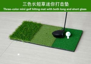Image 2 - Fungreen Golf Đánh Mat 3 Cỏ Với Cao Su Thun Giá Đỡ Tập Đánh Golf Trợ Ngoài Trời Trong Nhà Trị Sân Cỏ Golf Đánh cỏ
