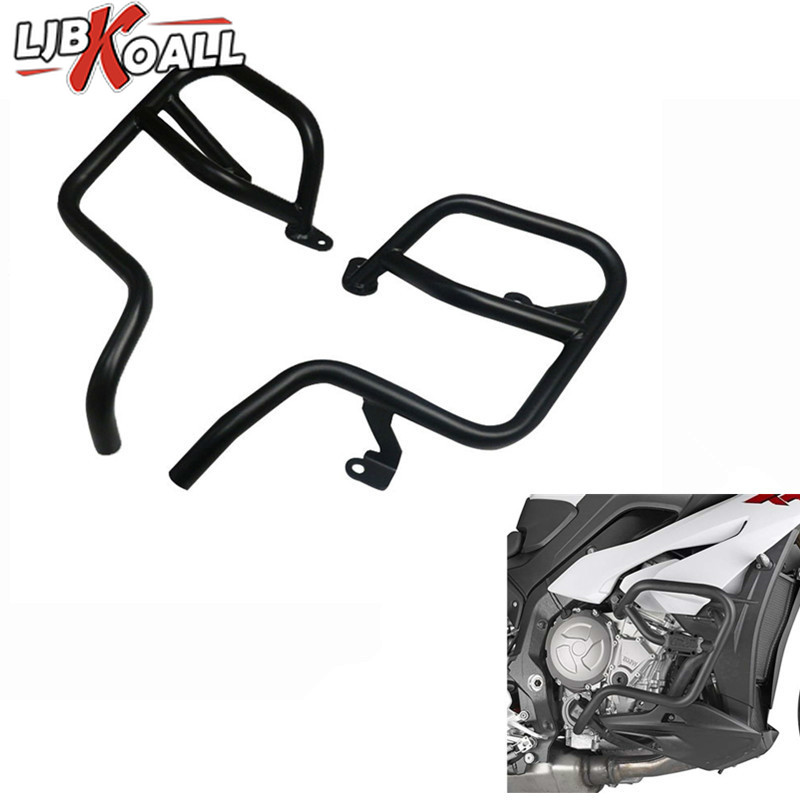 LJBKOALL Motorcycle Accessories Engine Protective Guard Crash Bar Protector Frame For BMW S1000XR 2015 2016 2017