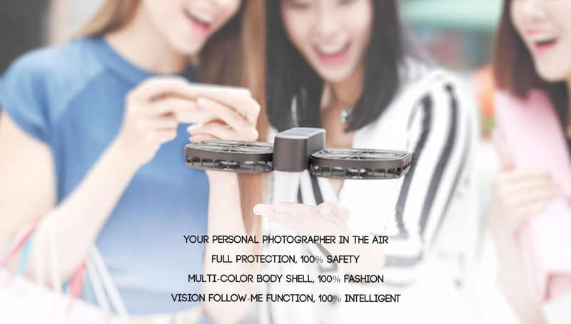 SIMTOO MOMENT Airselfie HOSHI 007PRO WiFi FPV with 4K HD Gimbal Camera GPS Folding Arms Selfie Drone Quadcopter