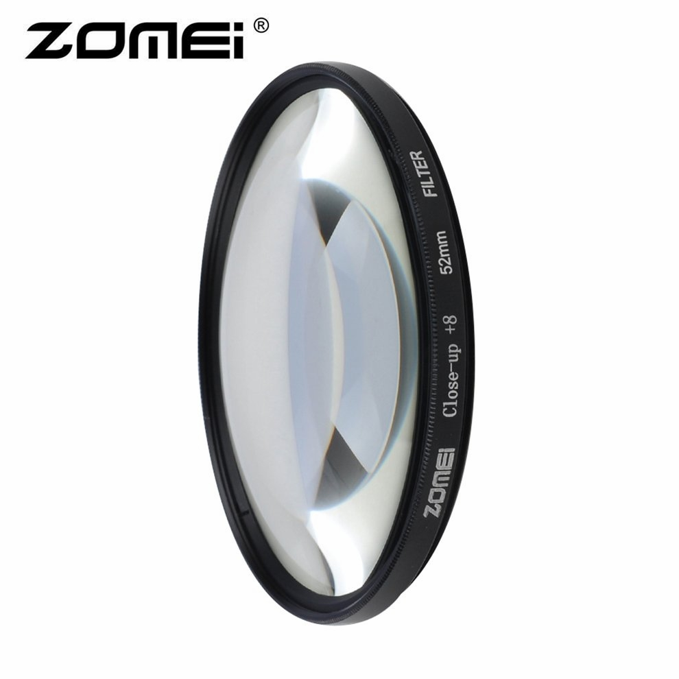Zomei Macro Close Up Filter +8 For Sony For Nikon For Canon Photographing Macro Lens Photo Circular Filter Camera Accessories цена