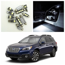 2015 subaru outback white. 10pcs white car led light bulbs interior package kit for 2014 2015 subaru outback map dome trunk door license plate lamp