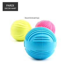 TPR eco-friendly pet toy decompression rubber ball bite molar relax pet toy molar toy bite resistance 1pc/lot
