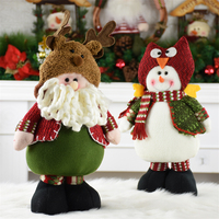 Christmas Decorations For Home Natal Doll Christmas Tree Decorations Santa Claus Xmas Ornaments Gift Christmas Garden Decoration