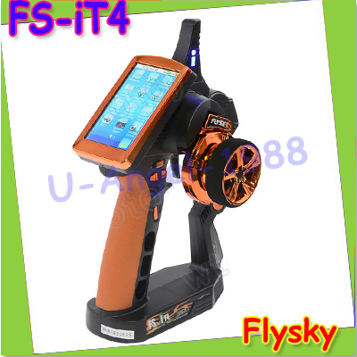 free shipping!! NEW Flysky Newest FS-IT4 2.4G AFHDS 2 LCD Touch Screen Transmitter Combo RC Car Boat new ea7 s6c rc touch screen