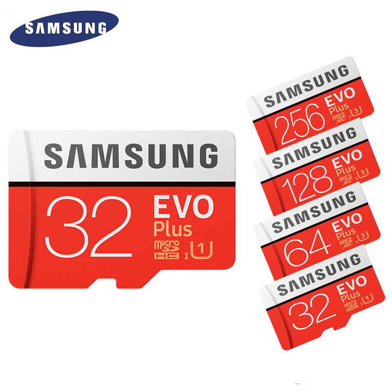 Samsung Evo Plus Memory Card 16gb 32gb Sdhc 64gb 128gb 256gb Sdxc