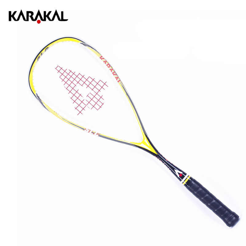 100% Carbon Squash Racket Karakal Squash Racquet With Bag Squash Paddle Raquete Squash Sport Tarining Racket Speed Padel SLC