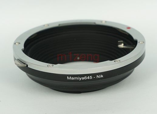 M645 AI Mamiya 645 Lens to AI lens Adapter ring for D800 D700 D600 D300 D3