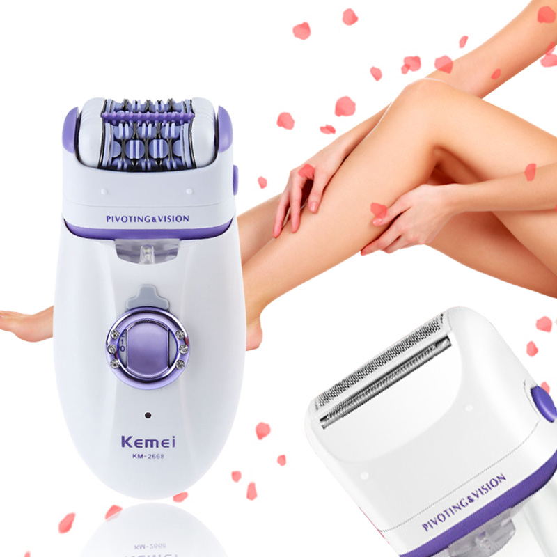 Image 3 - 220V Professional Lady Depilacion Epilator Hair Remover Electric Female Depilatory for Women Leg Full Body Use Beauty Tools-in Epilators from Home Appliances