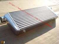 Core Size 550x230x65mm In Outlet 2 5inch Universal Intercooler Front Mount Bar Plate Intercooler Supplier AAA