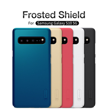 For Samsung Galaxy S10 5G Case NILLKIN Super Frosted Shield PC Plastic Hard Phone Cases For Samsung Galaxy S10 5G Back Covers protective frosted plastic back case for samsung galaxy express i8730 black
