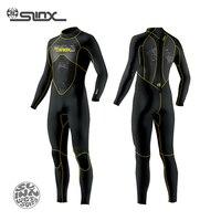 Slinx spro 1101 3mm neopren erkekler tam vücut wetsuit tüplü dalış suit rüzgar sörfü dalış uçurtma sörfü mızrak balıkçılık için