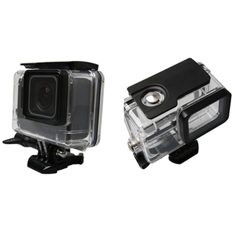 Sualtı Su Geçirmez Konut Case Go Pro Hero 6 5 45 M GoPro Hero 5 6 - Kamera ve Fotoğraf - Fotoğraf 2