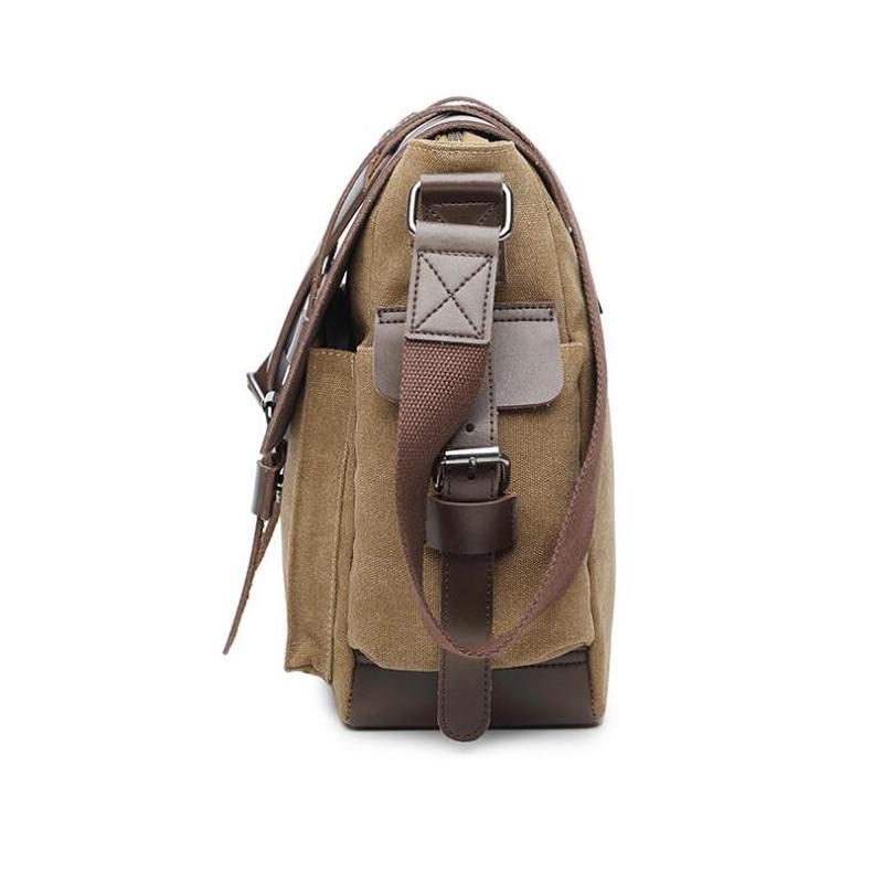 Mężczyźni Messenger torby męskie Crossbody torba dla mężczyzn płótnie torba moda torba na laptopa torba na ramię torba Bolsa Masculina sac homme wysokiej jakości w Torby z długim paskiem od Bagaże i torby na  Grupa 3