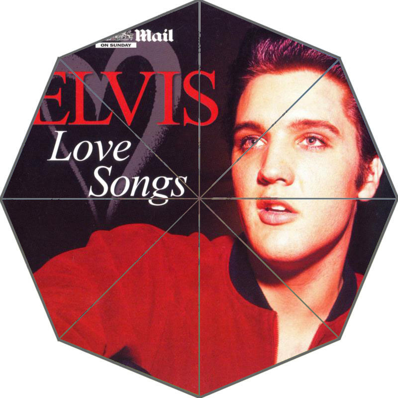Nice Elvis Presley Umbrella Custom Sunny And Rainy Umbrella Design