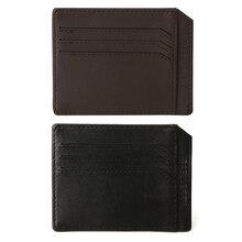Thinkthendo новый тонкий творческий кредитные карты бумажник пакетом лицензий держателя карты карман для купюр