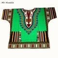 Mr Hunkle New African Dashiki Fashion Design African Traditional Floral Print Dashiki Dress(fast shipping)