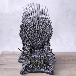The Iron Throne Sword Chair PVC Figure Statue Model Toy Collection Birthday Gift