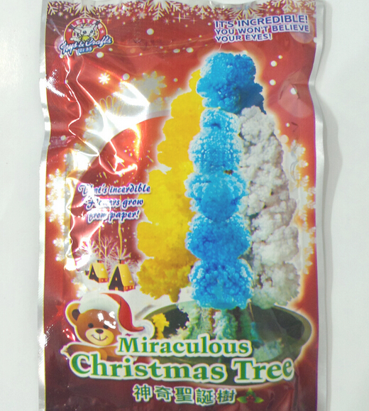 2019 2PCS 100mm H DIY Multicolor Magic Growing Paper Tree Magical Christmas Trees Japanese Educational Toys Novelty For Children in Gags Practical Jokes from Toys Hobbies
