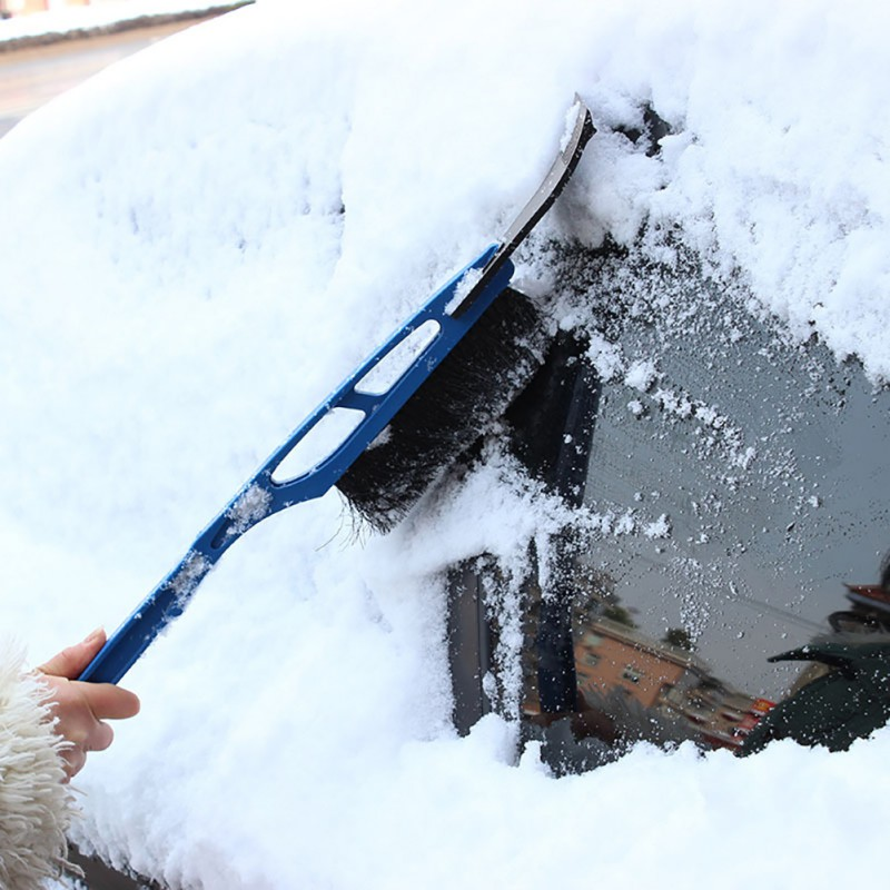 1pcs Multifunctional Car Windshield Ice Scraper Vehicle Snow Shovel Removal Brush Car Windscreen Clean Tools