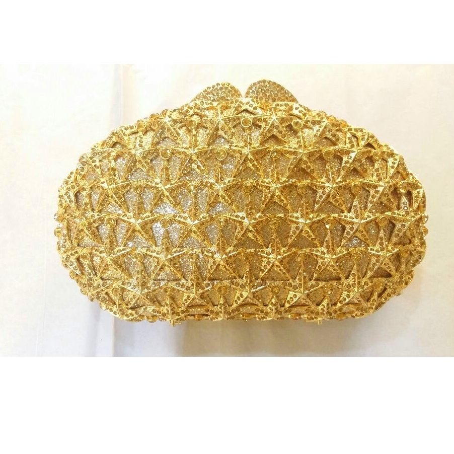 Здесь можно купить  8325GD gold Crystal OVAL STAR Wedding Bridal Party Night hollow Metal Evening purse clutch bag case box handbag 8325GD gold Crystal OVAL STAR Wedding Bridal Party Night hollow Metal Evening purse clutch bag case box handbag Камера и Сумки