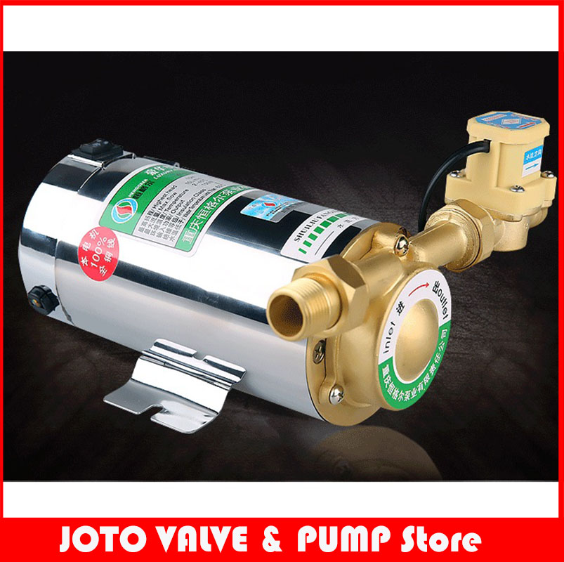 100W mini household booster water pump water circulation pressure pump for shower heating water pressure booster pump reorder rate up to 80% water circulation pressure pump for shower heating