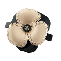 Alexander Luxury Hair Clips Flower Cellulose Acetate Rhinestone Hair Accessories For Women Hair Jewelry Barrettes Free