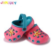 Fashion Children Slippers Summer Girls Shoes Cute Cartoon Comfortable Kids Anti-Slip Beach