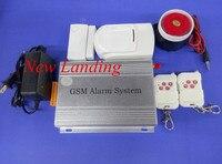 Caixa de metal de Quatro Band GSM Sistema de Alarme Sem Fio GSM 850 Mhz 900 Mhz  1800 Mhz e 1900 Mhz