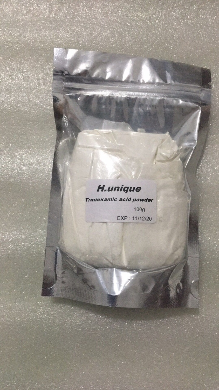 100g/500g Tranexamic Acid powder Skin care Tranexamic acid whitening and brightening100g/500g Tranexamic Acid powder Skin care Tranexamic acid whitening and brightening