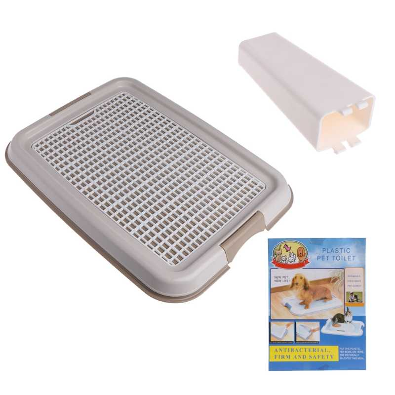 Reusable Pet Training Toilet for Small Kitten Dog Cat Mesh Pad Holder Good Clean-m35