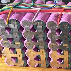 Image 3 - 1 kg 2 e 2 corda 18650 soldadura de ponto da bateria de lítio de níquel folha peça de ligação 0.15mm * 27mm folha de níquel com suporte