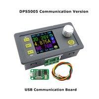 Dps5005 통신 기능 정전압 전류 스텝 다운 전원 모듈 벅 전압 컨버터 전압계 50 v 5a