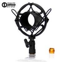 De Metal Universal Suporte de Montagem de Choque Suspensão Microfone Aranha À Prova de Choque Microfone Condensador Clipe do Suporte Para ISK RM18 T2050 TRM9 RM16