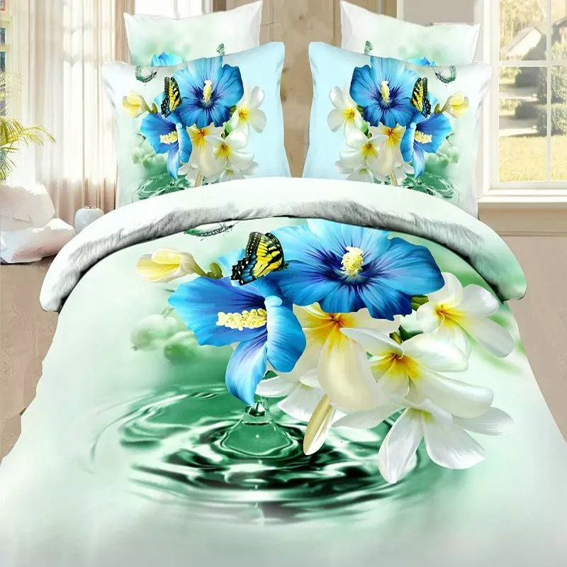 Butterfly Cot Bed Duvet Set