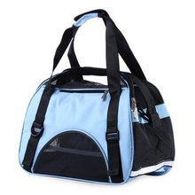 New Fashion Pet Dog Cat Outdoor Carrier Travel Tote Bag Breathable Mesh Handbag Backpack Eco-Friendly