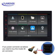 Funrover 7 «Android UI автомобильный DVD для VW SEAT Альгамбра 1996-2008 и Cordoba 6L 2002-2008 и IBIZA 6L 1996-2008 и Леон 1 м 1999-2005 FM