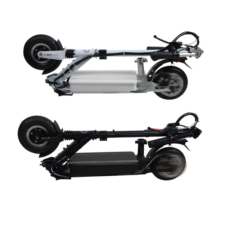 2015 SML Shining Powerful Two Wheel Mini Foldable Electric Scooter Lithium E-Bike Disc Brake 8 inch wheel E-Scooter