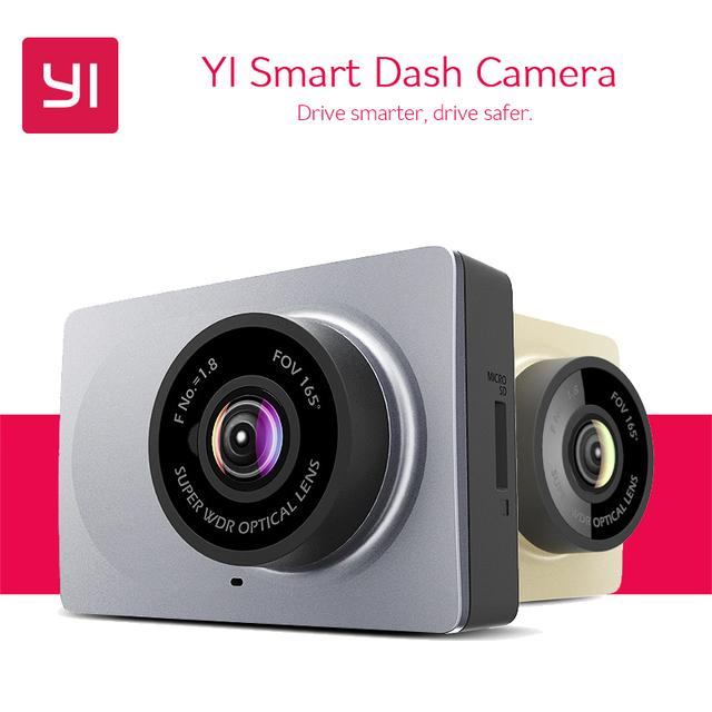 US $49 99 50% OFF|YI Smart Dash Camera 165 Degree 2 7
