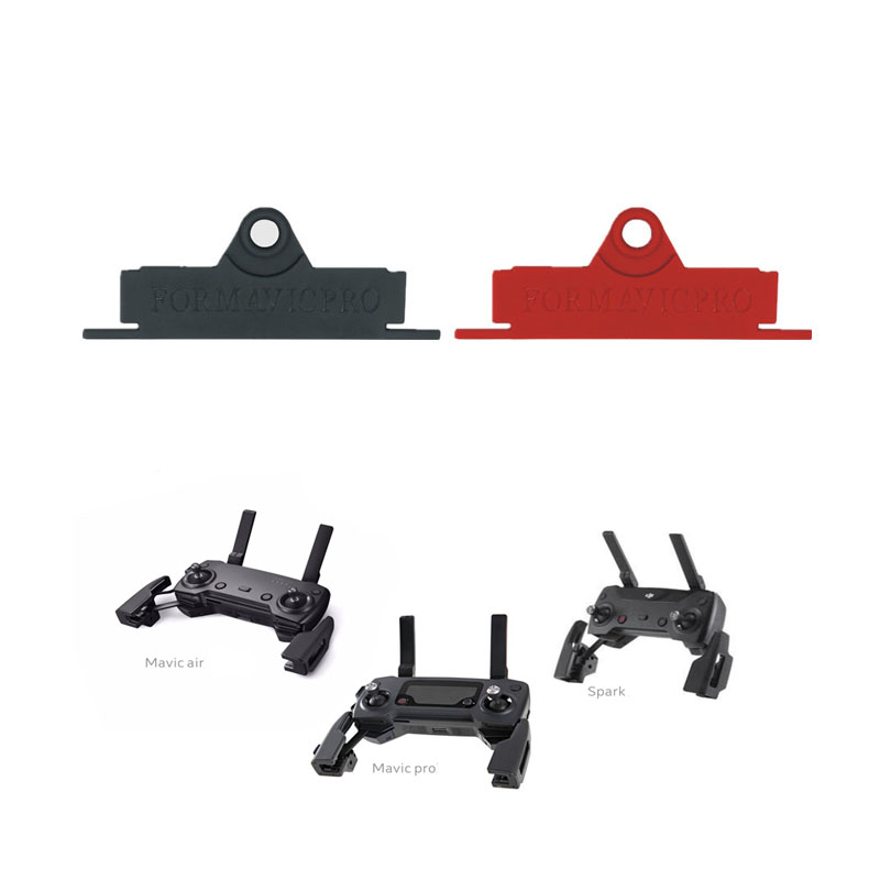 Remote Control Hang Buckle Board Neck Strap Lanyard Bracket  For DJI Mavic Pro Mavic Air Spark Drone Accessories Black / Red