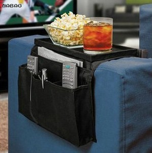NABAG 1PC Practical Fold-down Sofa edge Bed Hang storage bag Multilayer Organizer Sorting bags For Remote Control Magazines Z503