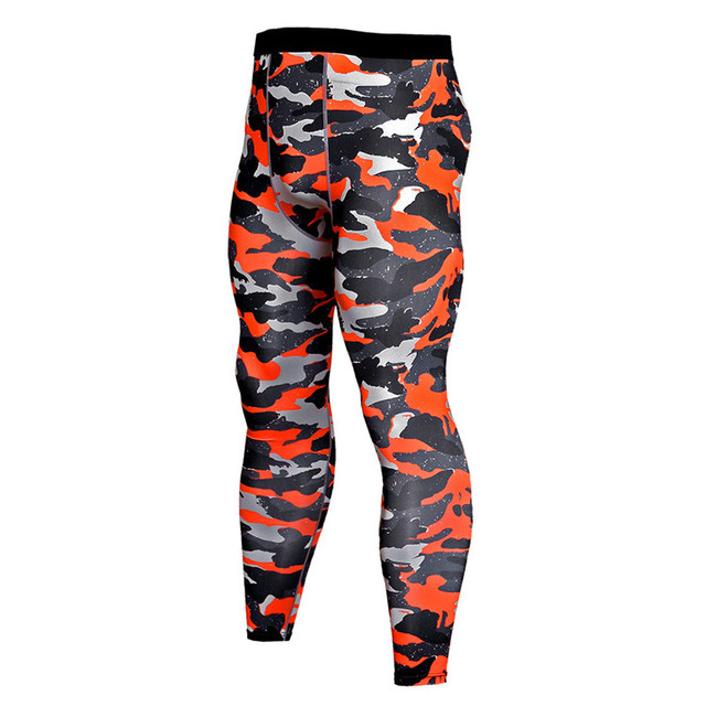 3755464ea6522 2018 New Camouflage Sport Leggings Running Tights Men Compression Pants  Yoga Gym Training Fitness Pants Men Camo Trousers MMA