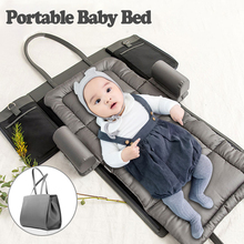 2019 Baby Travel Portable Baby Crib/Nest Child Supplies Newborn Multi-function Folding Bed with handbag Portable Bed high quality newborn baby bed travel portable baby bed with toys