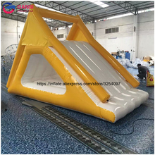 Factory Custom Inflatable Floating Water Climbing Mountain Slides with Best Price