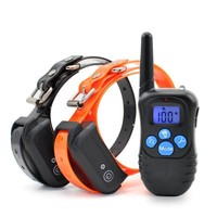 RC Dog Training Anti Barking Collars Electronic Vibration Dog Collar Honden Halsband Dog Training Clicker For Small Dogs H1