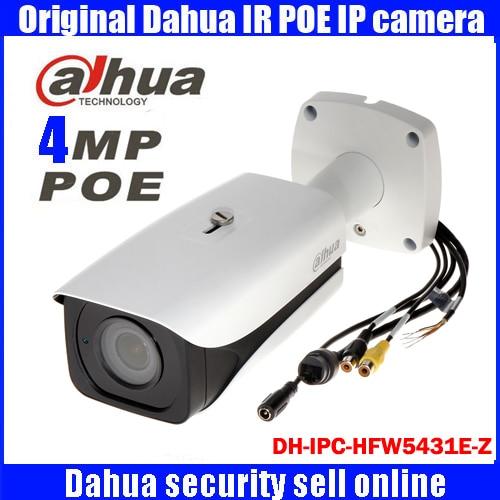 DH-IPC-HFW5431E-Z Dahua original Bullet security camera 2.7mm ~12mm motorized zoom lens ip camera IPC-HFW5431E-Z dahua dh ipc hfw1220sp 0360b
