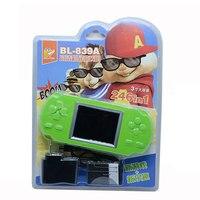 Perakende Kutu Ucuz & Süper Büyük 3 inç Renkli Ekran Oyun Oyuncu Taşınabilir El Oyun Oyuncu Dahili Ile 246 Klasik oyunları