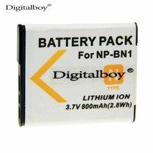 1 UNIDS 800 mAh NP-BN1 NPBN1 NP BN1 Recargable Batería de La Cámara Digital para sony cyber-shot dsc s750 dsc s780 w630 w310 tx5 T99